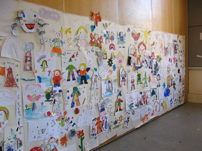 "The ""Faerie Fantasy World"" Outcome - A big Draw! project with artist Pui Lee"