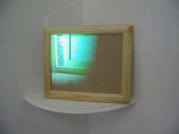 Detail - Untitled (window) (2006) video installation - Pui Lee